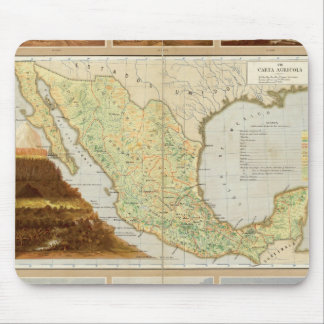Agriculture of Mexico Mouse Mat