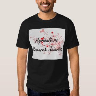 Agriculture Research Scientist Artistic Job Design Tshirt