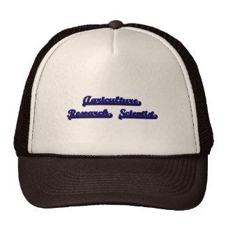 Agriculture Research Scientist Classic Job Design Trucker Hat