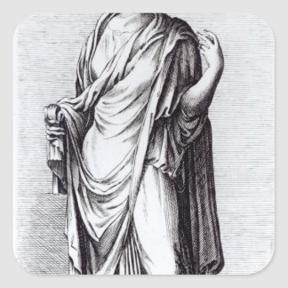 Agrippina, c.1653 square sticker