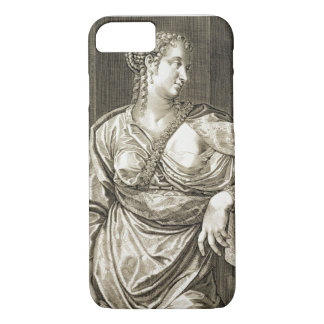 Agrippina wife of Tiberius (engraving) iPhone 8/7 Case