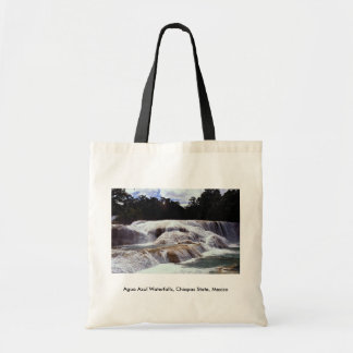 Agua Azul Waterfalls Chiapas State Mexico Tote Bag