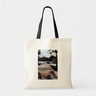 Agua Azul Waterfalls Chiapas State Mexico Canvas Bags