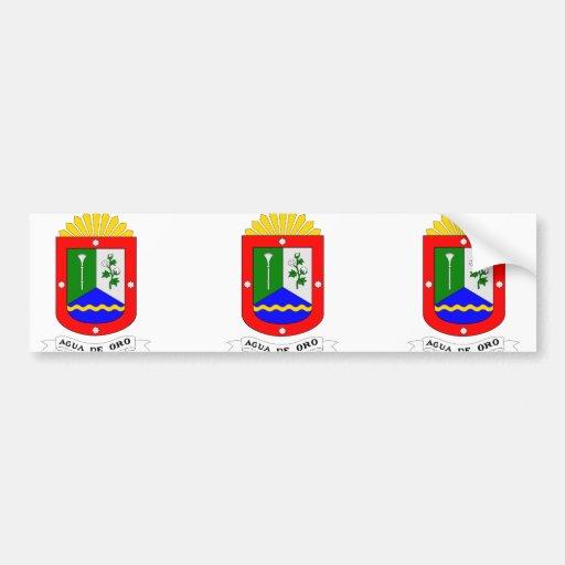 Agua de Oro, Argentina Bumper Sticker