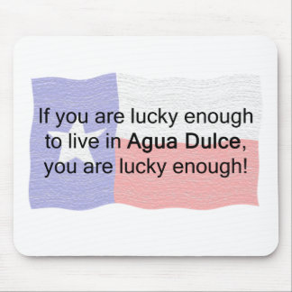 Agua Dulce Lucky Mouse Pad