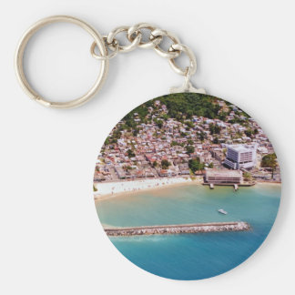 Aguadilla Pueblo Key Ring