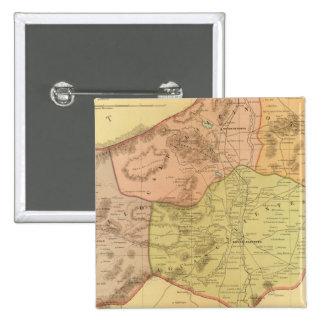 Aguascalientes 15 Cm Square Badge