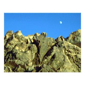 Aguerrigerry at sunrise rock formation flyer design