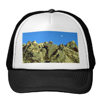Aguerrigerry at sunrise rock formation hat