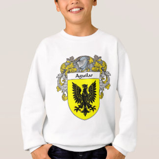 Aguilar Coat of Arms (Mantled) Sweatshirt