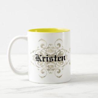 Aguilera Coat of Arms - Customizable Two-Tone Coffee Mug