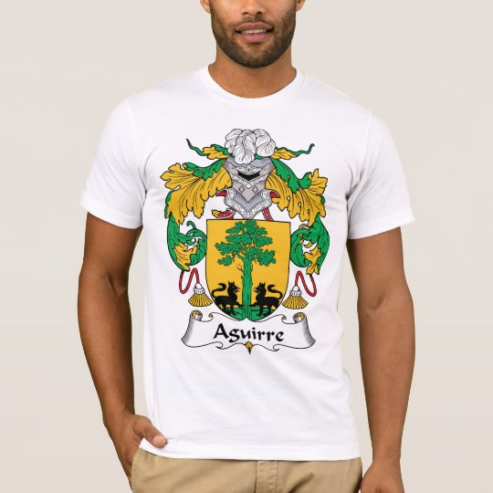 Aguirre Family Crest T-Shirt
