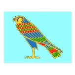 Ägypten Falke egypt falcon Postkarte