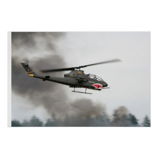 AH-1 Cobra - Attack Helicopter Print