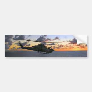 AH-1W Super Cobra USMC Bumper Sticker