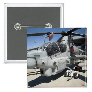 AH-1Z Super Cobra attack helicopter 15 Cm Square Badge