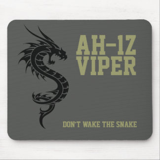AH-1Z Viper Attack Helicopter Mousemat