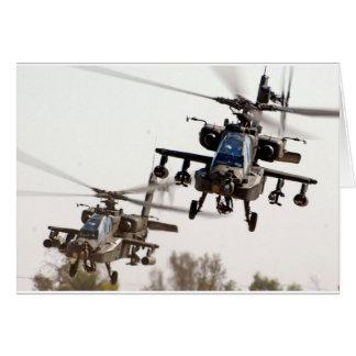 AH-64 Apache Card