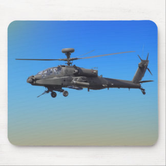 AH-64 Apache Helicopter Mouse Mat
