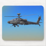 AH-64 Apache Helicopter Mouse Pads
