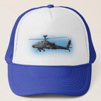 AH-64 Apache Helicopter Trucker Hat