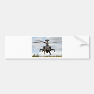 ah 64 apache longbow helocopter military bumper sticker