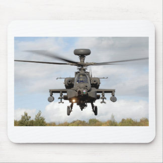 ah 64 apache longbow helocopter military mouse pad