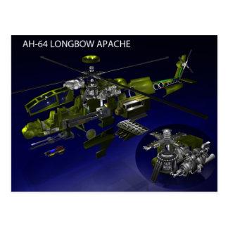 AH-64 Longbow Apache Postcard