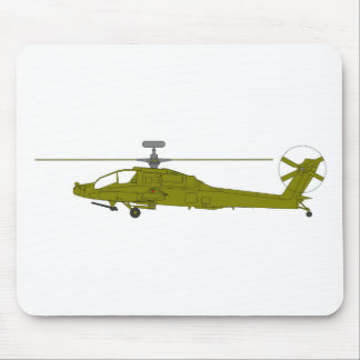 AH-64D attack helicopter Mouse Mat