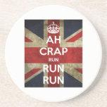 Ah Crap Run Run run Coaster
