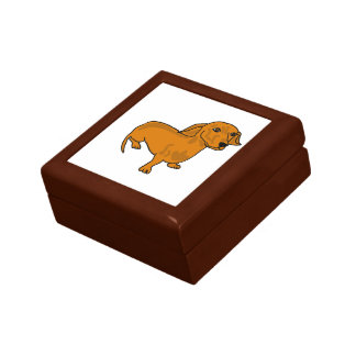 AH- Cute Dachshund Gift Box