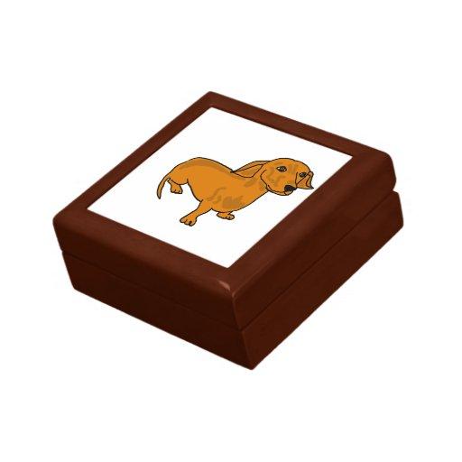AH- Cute Dachshund Gift Box