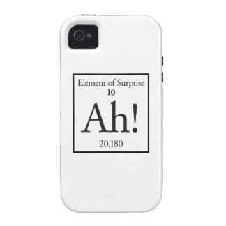 Ah Element of Surprise Vibe iPhone 4 Cover