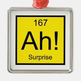 Ah! Element of Surprise Christmas Ornament