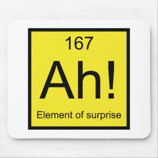 Ah! Element of Surprise Mouse Mat