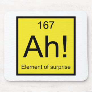 Ah! Element of Surprise Mouse Pad