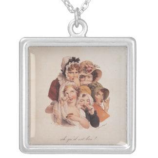 Ah! Qu'il est Bon! Silver Plated Necklace