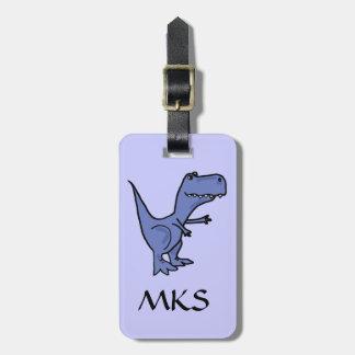 AH- T-Rex Dinosaur Luggage Tag