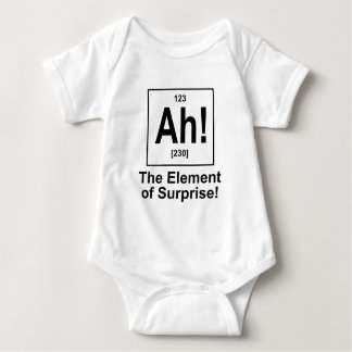 Ah! The Element of Surprise. Baby Bodysuit