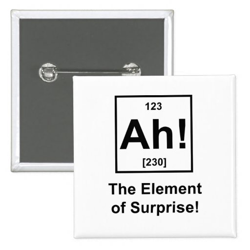 Ah! The Element of Surprise Buttons