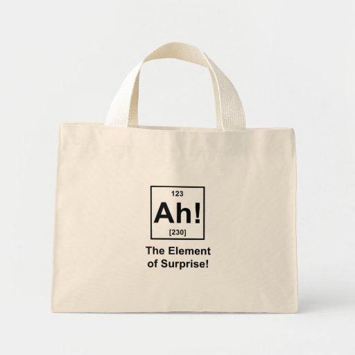 Ah! The Element of Surprise Bag