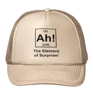 Ah! The Element of Surprise Cap