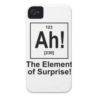 Ah! The Element of Surprise. iPhone 4 Case-Mate Case