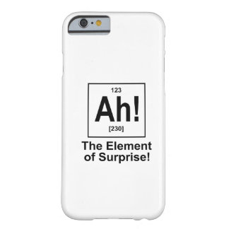 Ah The Element of Surprise iPhone 6 Case