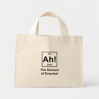 Ah! The Element of Surprise Mini Tote Bag