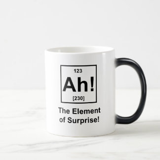 Ah! The Element of Surprise Morphing Mug
