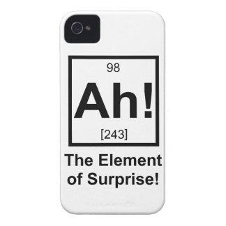 Ah the Element of Surprise Periodic Element Symbol iPhone 4 Cases