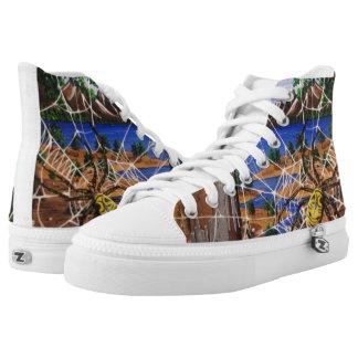 Aharon's Art Printed Shoes
