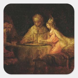Ahasuerus , Haman and Esther, c.1660 Stickers
