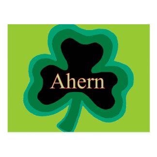 Ahern Family Postcard